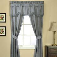 Essential Home Classic Scroll 5 Piece Window Set - Wedgewood at Kmart.com