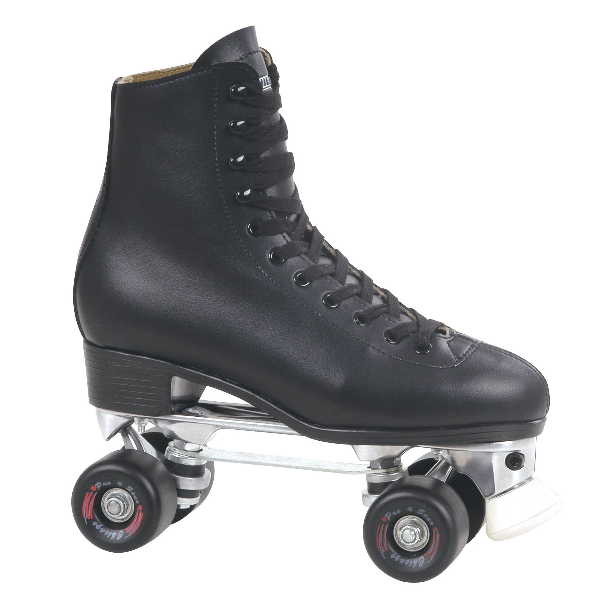 Men's Leather Lined Rink Skate Black