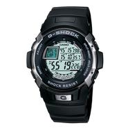 Casio Mens G-Shock Auto Calendar Trainer Watch w/Round Grey Dial & Black Resin Band at Sears.com