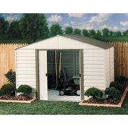 Arrow Buildings VM108 Vinyl Coated Steel Shed w/ Horizontal Siding (10 ft. x 8 ft.) at Sears.com