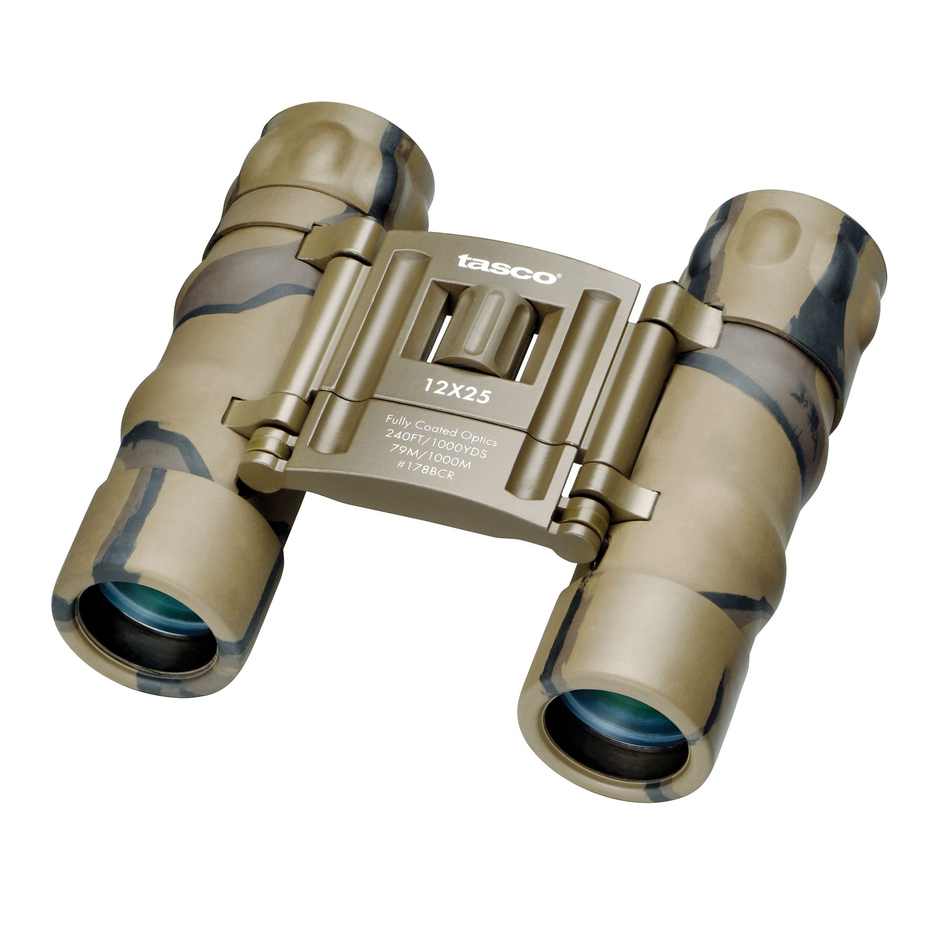 Tasco Essentials 178BCR 12 x 25mm Binoculars