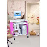"Techni Mobili Q 32""W MDF Girls Computer Desk - Pink & White at Sears.com"