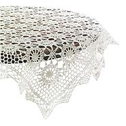 Essential Home 36in Cream Crochet Table Topper at Kmart.com