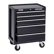 "Craftsman 26"" Wide 5-Drawer Ball-Bearing Bottom Chest - Black at Craftsman.com"