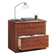 "Sauder 28-7/8""H x 33-7/8""W x 20-7/8""D Lateral File Cabinet - Planked Cherry at Sears.com"