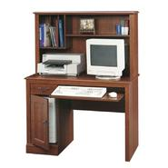 "Sauder 56-1/4""H x 43-1/2""W x 19-3/4""D Computer Desk with Hutch - Planked Cherry at Kmart.com"