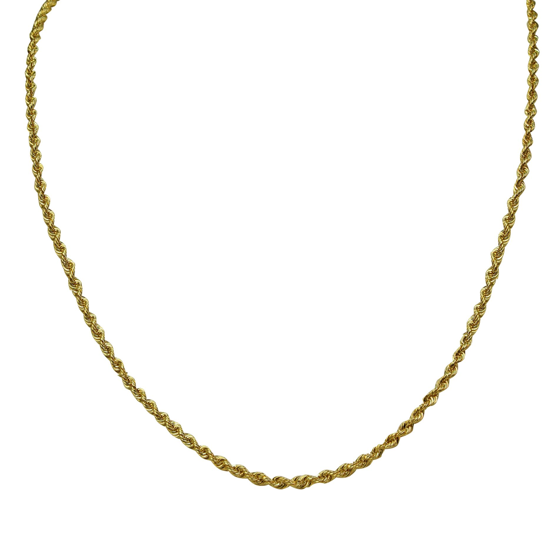14Kt Rope Chain                                                                                                                  at mygofer.com