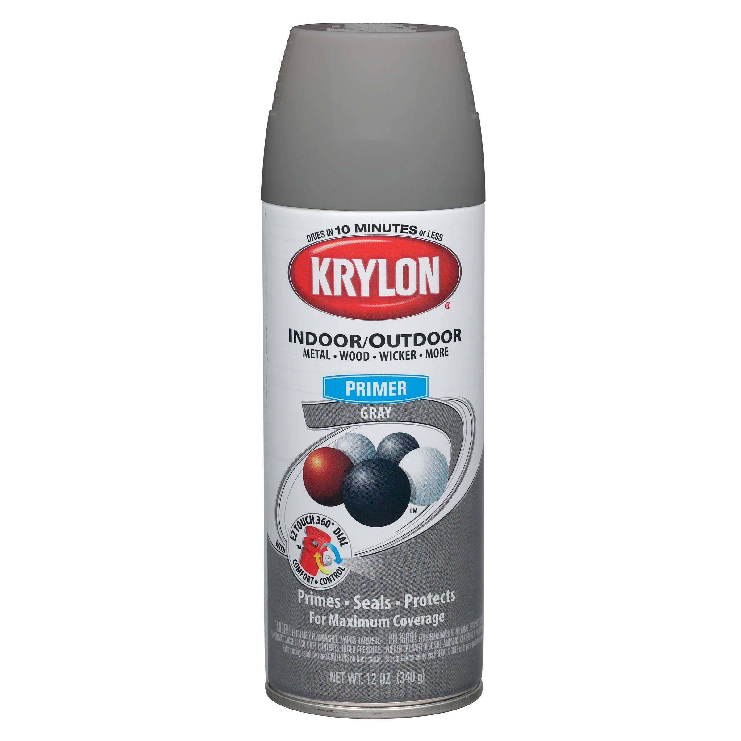Krylon Grey -Aerosol Primer