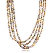 "6-7mm Multi-colored 100"" Endless freshwater Cultured Pearl Necklace at Sears.com"