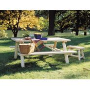 Cedar Looks 2' Straight Patio Bench - 2 Per Box at Sears.com