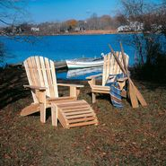 Cedar Looks Adirondack Deluxe Patio Chair at Sears.com