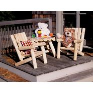 Cedar Looks Junior Log Patio Chair at Sears.com