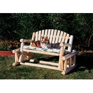 Cedar Looks Patio Log Glider at Sears.com