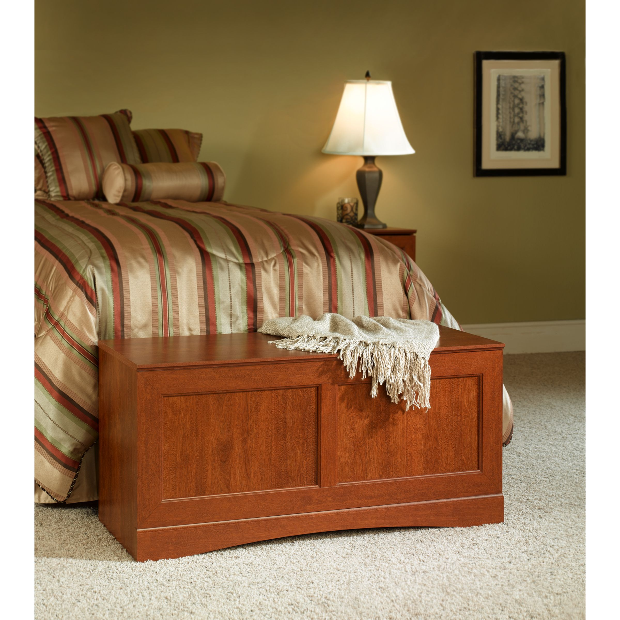 Essential Home  Bridgeport Storage Bench