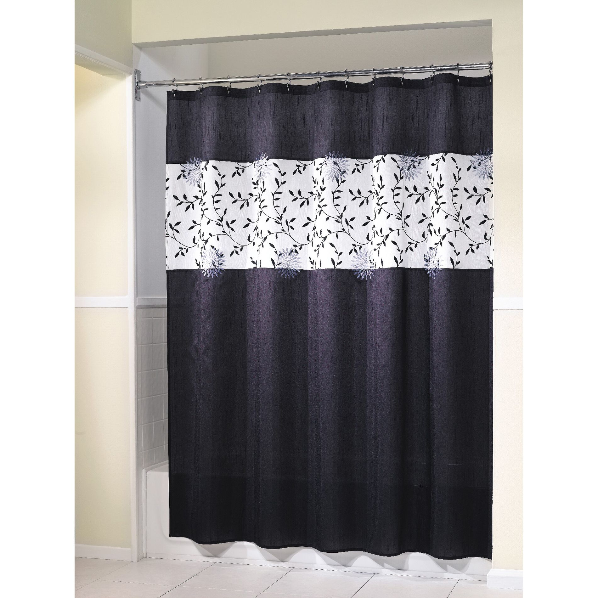 Shower Curtain Akiko Fabric