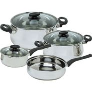 Magefesa Deliss Stainless Steel 7 Piece, Cookware Set at Sears.com