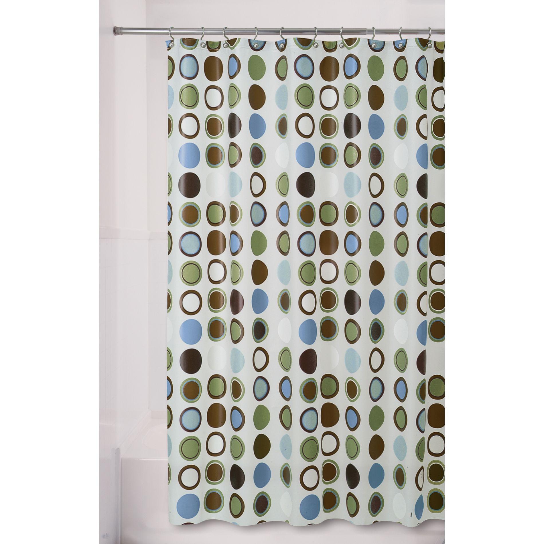 Essential Home Shower Curtain Spot Vinyl