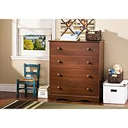 South Shore Heavenly 4-Drawer Chest - Royal Cherry at Kmart.com
