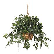 Nearly Natural English Ivy Hanging Basket Silk Plant at Kmart.com