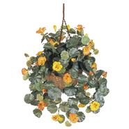 Nearly Natural Nasturtium w/Handing Basket at Sears.com