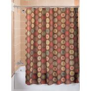 Essential Home Shower Curtain Beringer Brown Fabric at Kmart.com