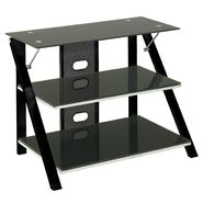 "Z-line Cruise TV Stand for 46"" Televisions - Black at Kmart.com"