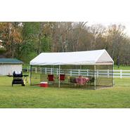 Shelter Logic 10x20 - 8 Leg 2 in 1Canopy w/ Fully Enclosed Screen Kit at Sears.com