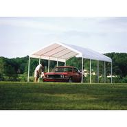 Shelter Logic 12x26 - 10 Leg Canopy - White Cover at Sears.com