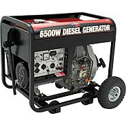 All Power America 6500w Diesel Generator w/ Electric Start - Non CA at Sears.com