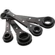Craftsman 4 pc. 4-in-One Inch and Metric Reverse Ratcheting 12 pt. Wrench Set at Craftsman.com
