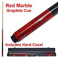 Trademark Red Marble Billard Graphite Pool Cue Stick at Kmart.com