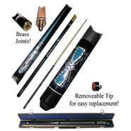 Trademark Blue Majestic Billiard Hardwood Pool Cue Stick at Kmart.com