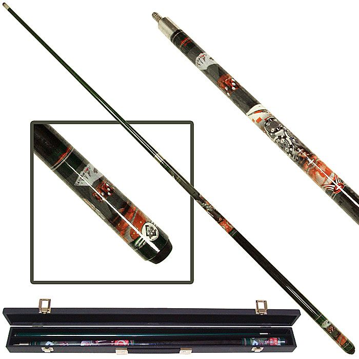 Casino Night Billiard Graphite Pool Cue Stick