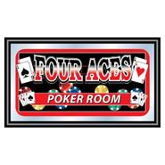 Trademark Four Aces Mirror - POKER ROOM at Kmart.com