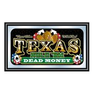 Trademark Framed Texas Holdem Wall Mirror - Dead Money at Kmart.com