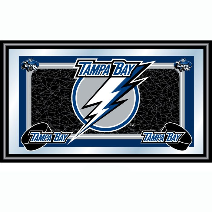 NHL Tampa Bay Lightning Framed Team Logo Mirror