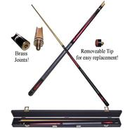 Trademark Ruby Red Designer Billiard Hardwood Pool Cue Stick at Kmart.com