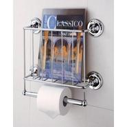 Neu Home Wall Mount Magazine Rack with Toilet Paper Holder at Kmart.com