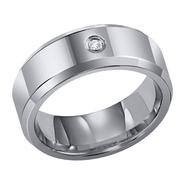 Orange Blossom Tungsten Carbide Diamond Accent Band at Kmart.com