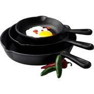 Basic Essentials 3pc Fry Pan Set at Kmart.com