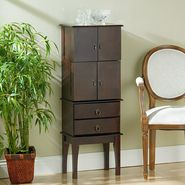 Southern Enterprises Cherry Jewelry Armoire at Kmart.com