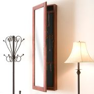 Southern Enterprises Wall-Mount Jewelry Mirror - Cherry at Kmart.com
