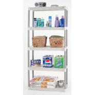 "Plano 34"" 5-Shelf Storage Unit - Taupe/Tan at Kmart.com"