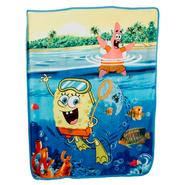 Nickelodeon Spongebob Squarepants Micro Raschel Throw at Kmart.com