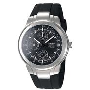 Casio Mens Multi Display Watch with Round Black Dial and Black Resin Band at Sears.com