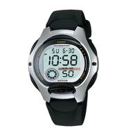 Casio Ladies Calendar Day/Date Watch w/Round ST Case, Digital Dial & Black Resin Band at Sears.com
