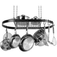Range Kleen Black Oval Pot Rack at Kmart.com
