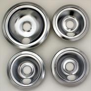 Range Kleen Three small and large chrome-plated drip pans - 4 pack at Sears.com
