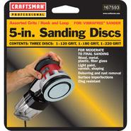 Craftsman Professional 5-in. Assorted Grits Sanding Discs at Craftsman.com