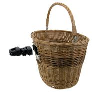 M-Wave WICKER BASKET WITH CLIP-ON QR at Kmart.com